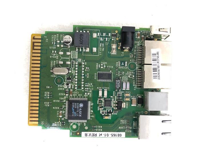 New verifone 08165-01-R Rev. B 208290047881(R3758-4B) usb rj45 rj11 interface
