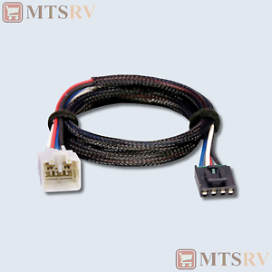Tekonsha 3040 2-Plug fits P3 P2 PrimusIQ Brake Control Wiring Adapter for Toyota