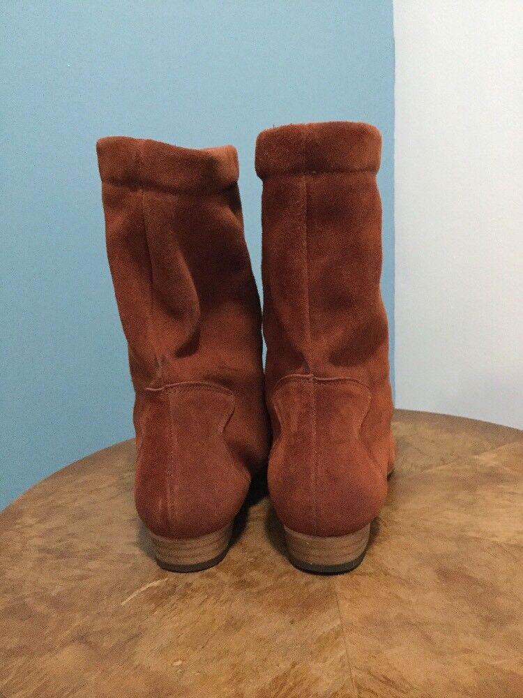 Nuevo libre la gente Ashville 39 Slouchy gamuza tobillo botas talla 39 Ashville óxido 7c25be