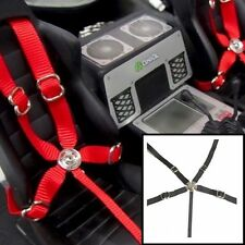 RC Scale, Drift, Crawler Racing 5 Point Harness Seatbelt Set Toyz 001 Black
