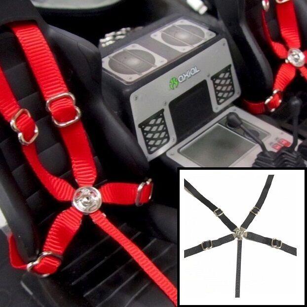 RC Scale Drift Crawler Racing 5 Point Harness Seatbelt Set Toyz 001
