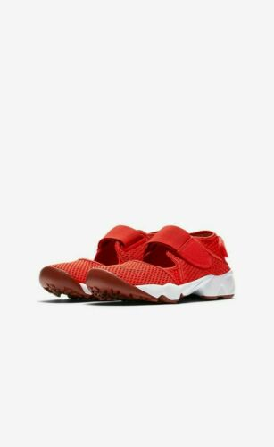 Nike Air Rift GS//PS Boys//Girls//Women/'s Trainers Shoes 322359 600 Red
