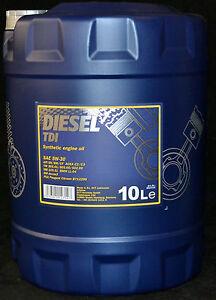 10liter mannol diesel tdi 5w 30 motor l vw bmw ll 04 opel. Black Bedroom Furniture Sets. Home Design Ideas