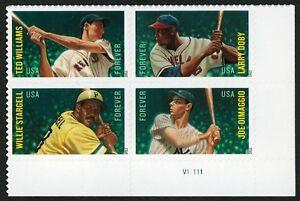 #4697b Major League Baseball All-stars,plt Noir [v1 Lr ],excellent État Any 4 =
