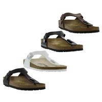 Birkenstock Gizeh Birko Flor Regular Fit Womens Sandals Size Uk 4-8