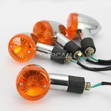 Amber Turn Signals Blinkers For Honda VTX 1800 1300 TYPE C R S N F T RETRO