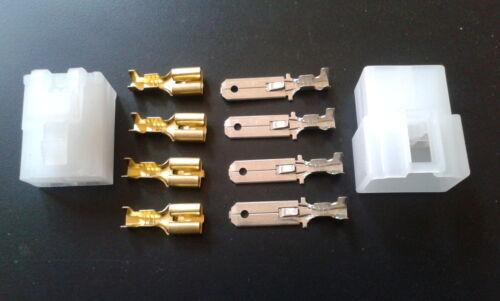 6.3 mm 4 Way Eléctrico Multi enchufe Conector Terminal Block