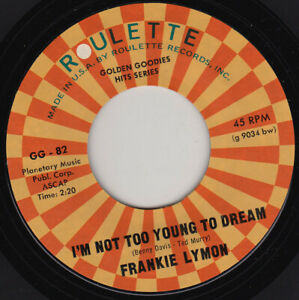 FRANKIE-LYMON-I-039-m-Not-Too-Young-To-Dream-7-034-45