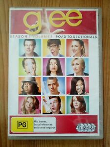 Glee-Road-To-Sectionals-Season-1-Vol-1-DVD-2010-4-Disc-Set