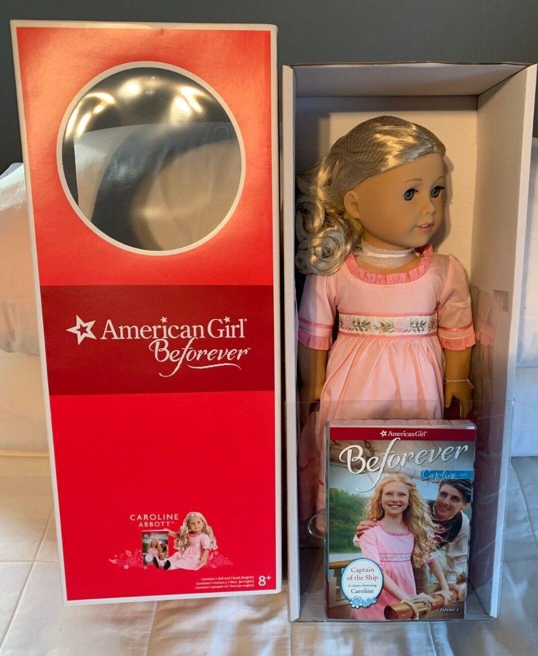Nuevo American Girl Doll Caroline beforever Edición Coleccionista en Caja Original BKF06 retirado