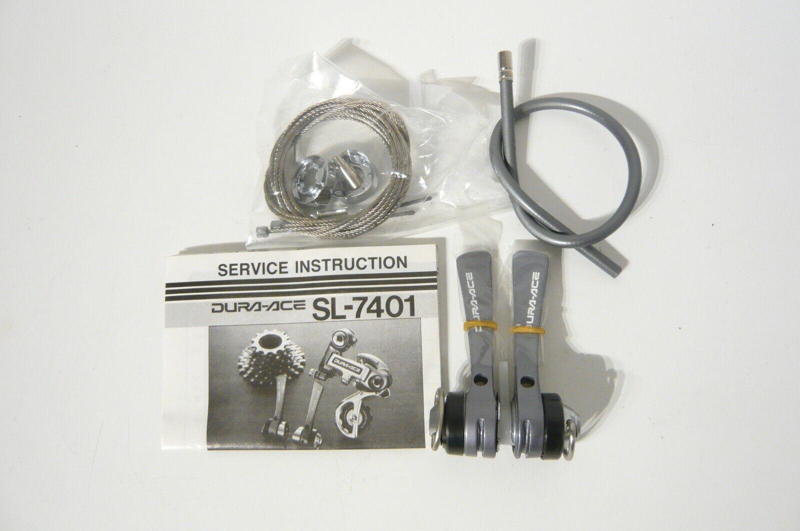 Shimano SL-7401 Dura Ace 7 conjunto de palanca de cambio de velocidad