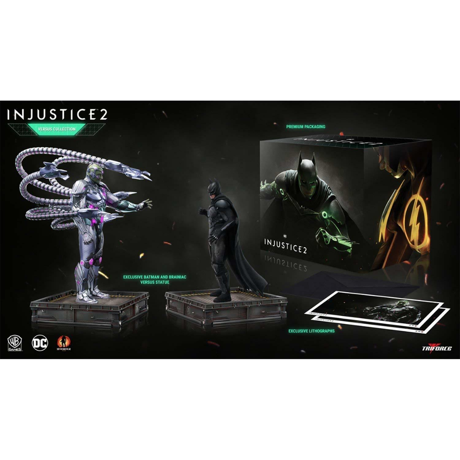 Injustice 2 The Versus Collection PVC PVC PVC Statues 23-28 cm  - new 6a0b4d