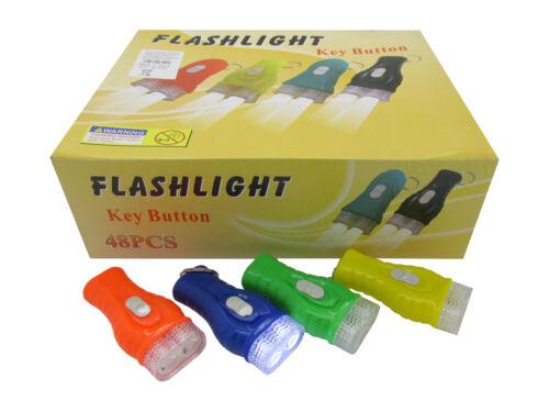 144x LED Taschenlampe Sonderposten Restposten Wurfmaterial Karneval Streuartikel