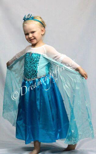20125 Princess Elsa inspired Dress Princess Elsa Halloween costume Frozen