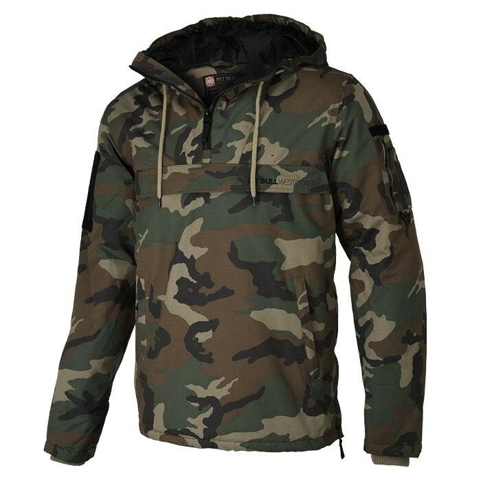 PitBull Westcoast Herren Winter Windfänger Sherman camouflage