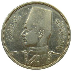 (c40) - Ägypten Egypt - 10 Piastres 1937 - Farouk - Vf - Km# 367 Im In- Und Ausland FüR Exquisite Verarbeitung, Gekonntes Stricken Und Elegantes Design BerüHmt Zu Sein