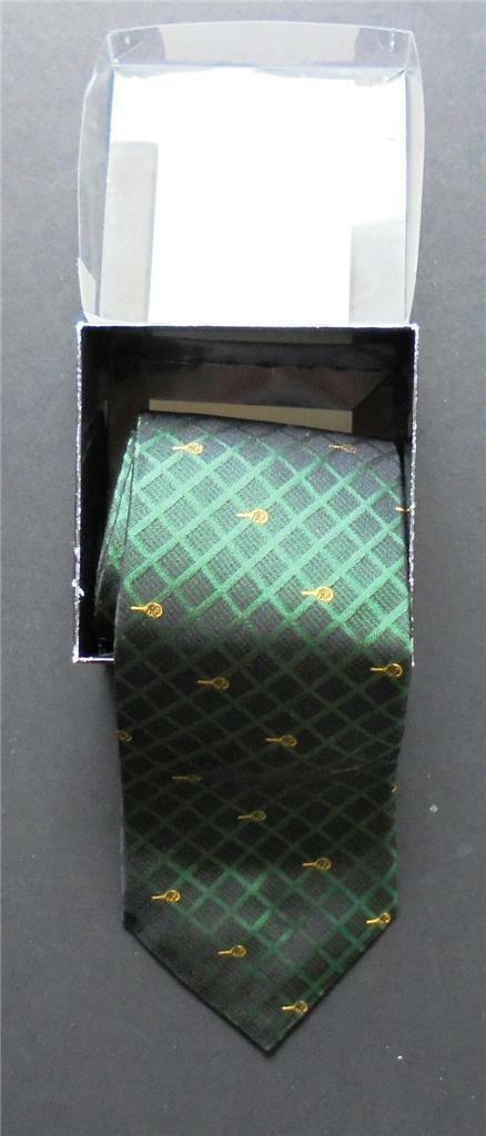 BNWT 2003 GREEN & gold DAVIS CUP FINAL TIE BOXED