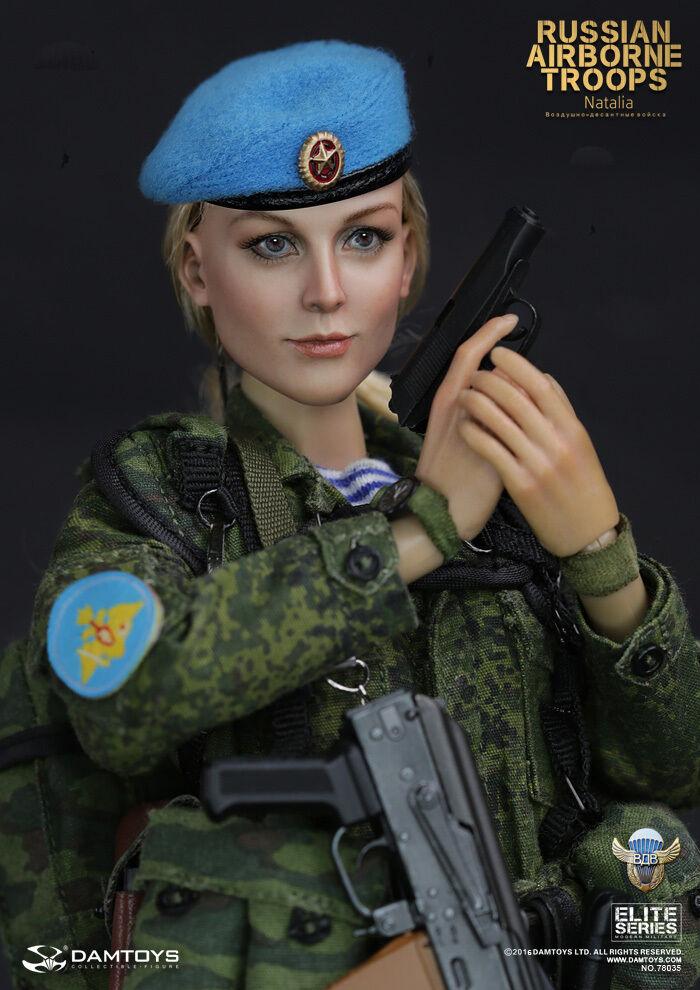 1 6 DAMgiocattoli DAM 78035 RUSSIAN AIRBORNE TROOPS   NATALIA Female cifra Full  Ritorno di 10 giorni