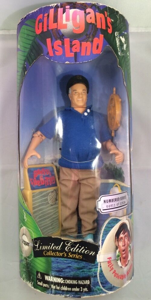• Sealed  Gilligans Island  Limited Edition Collectors Series Skipper Doll 1997