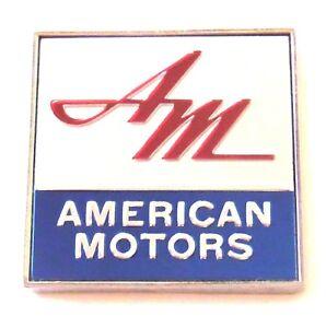Amc American Motors Logo Rear Deck Emblem 1968 Models Ebay