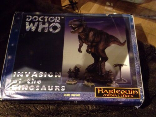 Dr-Who-Harlequin-Miniatures-DW1002-Invasion-Of-The-Dinosaurs-Box-Set-Rare