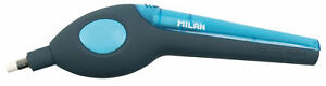 Milan-Electric-Eraser-Battery-Operated-for-Graphite-Pencil-amp-Ink-Ergonomic-Blue