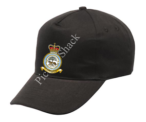 RAF 230 SQUADRON CREST PRINTED ON A BASEBALL CAP ONE SIZE WITH ADJUSTABLE STRAP