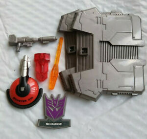 transformers weapons & accessories lot scourge rodimus optimus