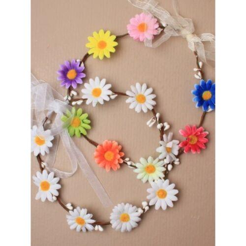 DAISY FIL serre-tête ruban ring liée hoop festival d/'été mariages Aliceband