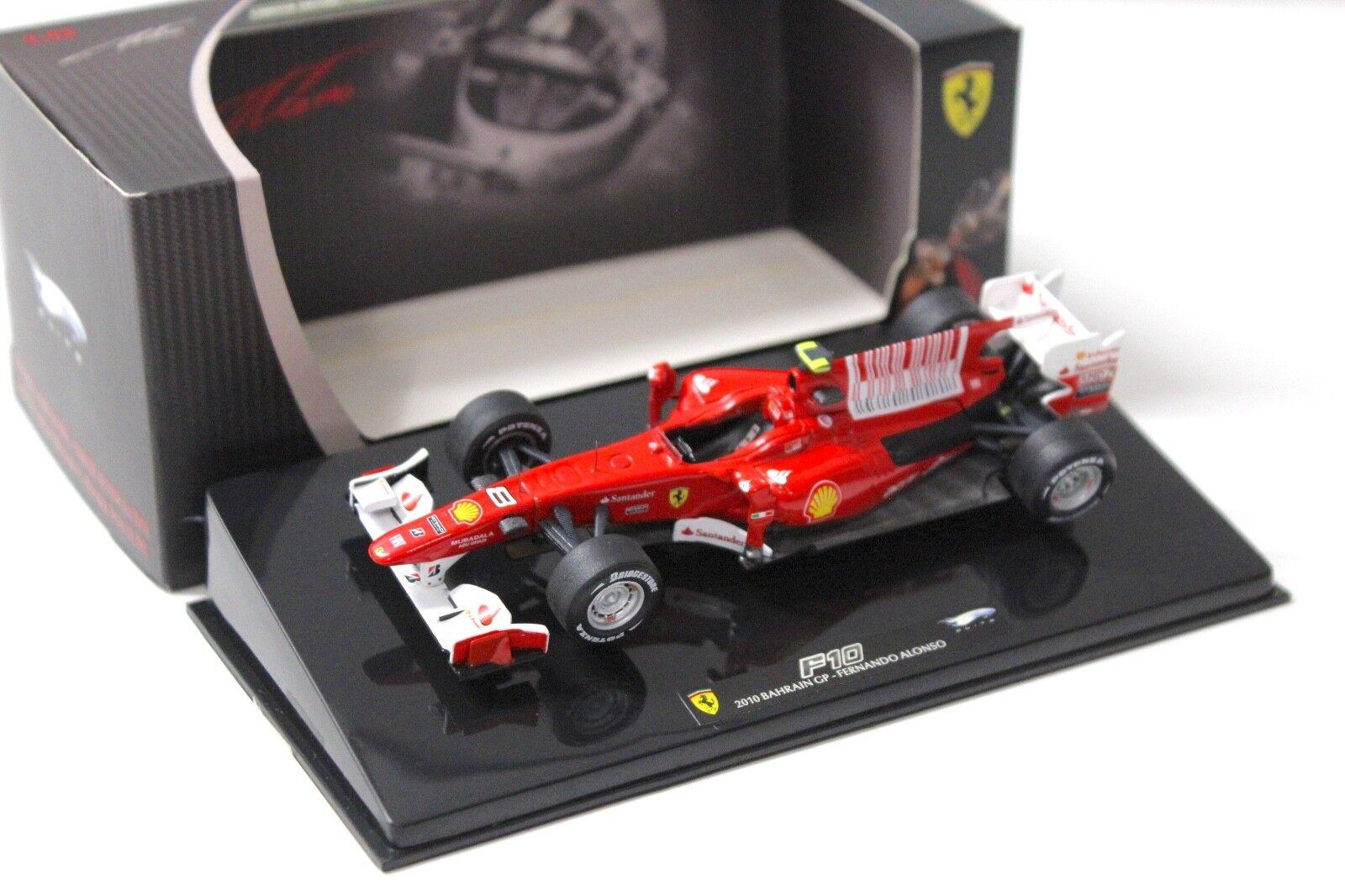 1 43 43 43 Elite Ferrari F1 F10 Bahrain GP 2010 Alonso NEW bei PREMIUM-MODELCARS fe338c
