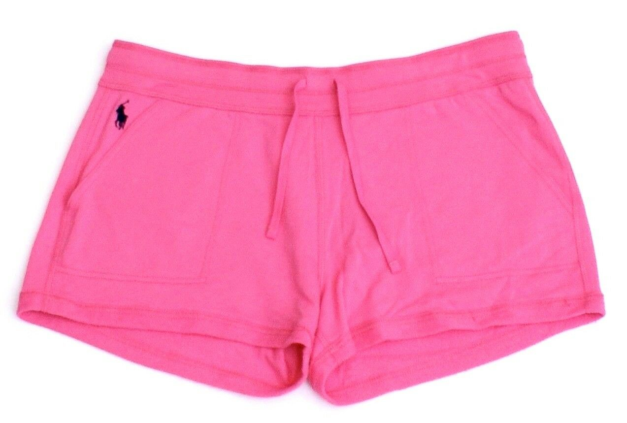 Polo Ralph Lauren Pink Casual Terry Short Shorts Women's NWT