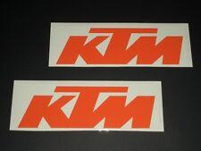 KTM Pegatinas Bapperl Adhesivo 2 Stück Carreras Exc Cruzar Moto org 18 NEU