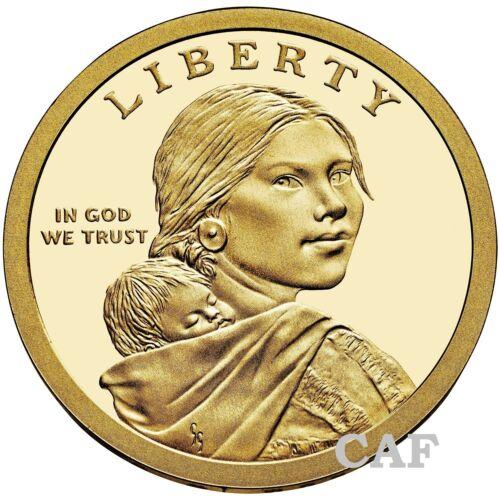 2019 S Proof Cameo Sacagawea Native American Mary Golda Ross Dollar $1 Coin
