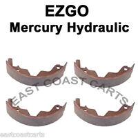 Ezgo Mercury Hydraulic Rear Brake Shoe (set Of 4) 4395