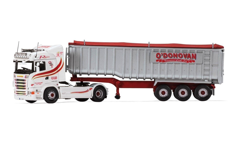 CORGI CC13771 1 50 SCANIA R Highline Bulk Tipper O 'Donovan (élimination des déchets) Ltd