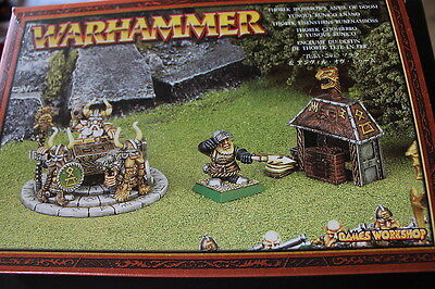 Dwarf Master Runelord Thorek Ironbrow and the Anvil of Doom - Metal Complete New