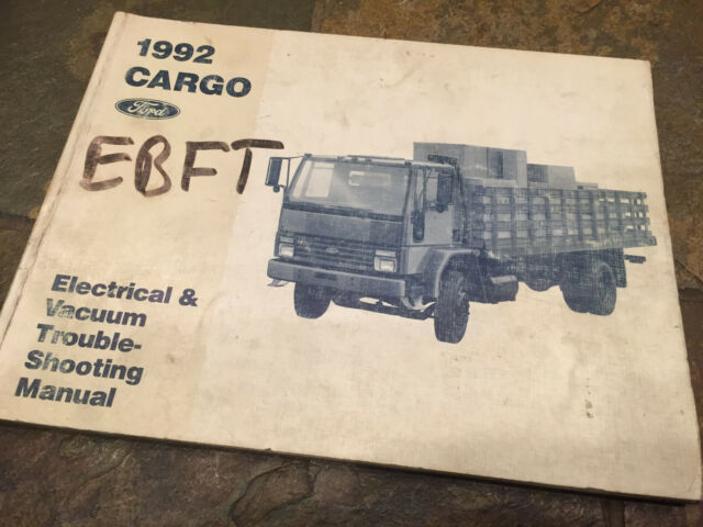 1992 Ford Cargo Truck G300 G400 G100 Wiring Diagrams