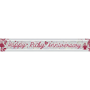 WEDDING-ANNIVERSARY-PARTY-SUPPLIES-HAPPY-RUBY-40th-ANNIVERSARY-FOIL-2-7m-BANNER