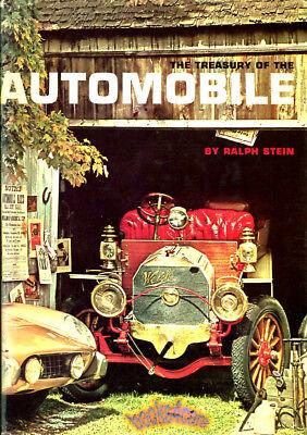 AUTOMOBILE CAR CLASSIC BOOK COLLECTOR HISTORY TREASURY STEIN RACING