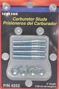 """5//16/"""" x 1-3//8/"""" Carburetor Carb Studs Kit//Set Holley Edelbrock Carter Rochester"""