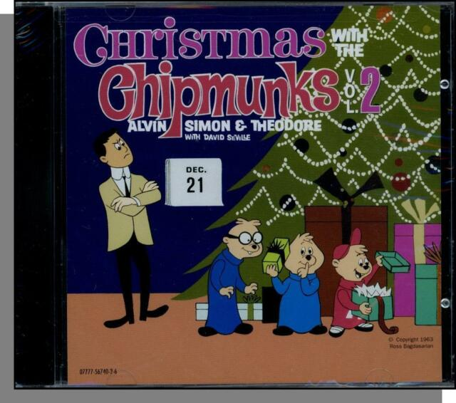the chipmunks christmas with vol 2 1963 new emicapitol - Chipmunks Christmas