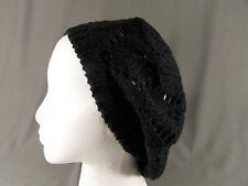 07b5acfad0a Light Soft Thin Summer Vent Cut out Stretch Knit Beret Beanie Hat ...