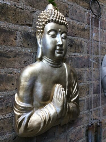 Very Large Divine Buddhas Wall Plaque. Unique From The Designer Sius. 5kg