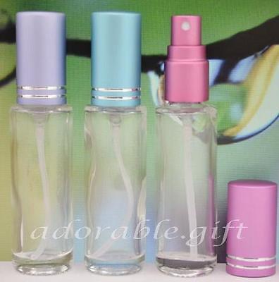 Glass Plain Atomizer Spray Travel Perfume Cologne Sample Bottles 10ml