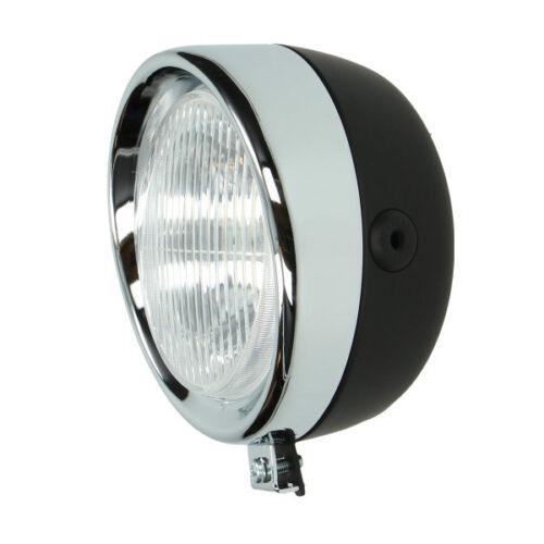 NEUER Nostalgie Retro Scheinwerfer Lampe für Puch X30 Mofa