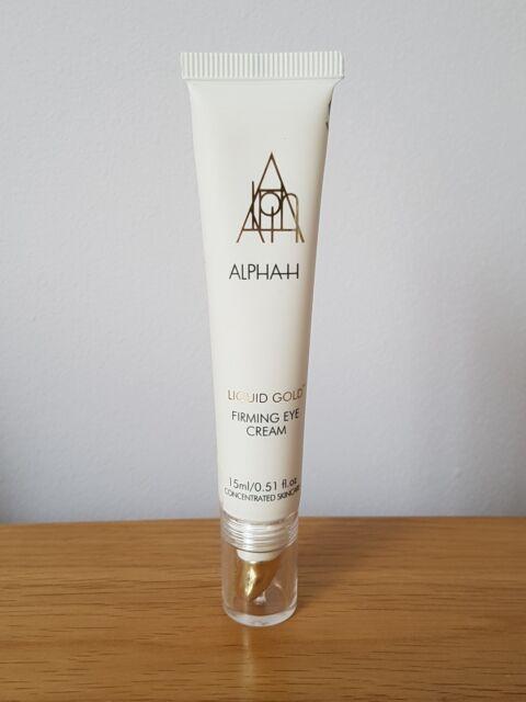 Alpha H Liquid Gold Firming eye cream 15ML Brand New,  Sealed. RRP £52