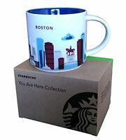 Starbucks Boston Mug You Are Here City Collectible Coffee Cup 14 oz 2013 Kitchen on Sale