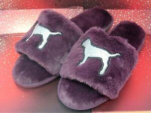 cd6a67e935b87 Victoria's Secret Pink Slipper, Slides, Super Soft, Dorm Perfect ...