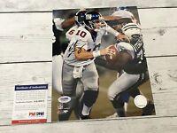 Eli Manning Signed NY New York Giants 8x10 Photo PSA DNA COA Autographed a