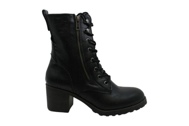 American Rag Women's Shoes Sloanie Closed Toe Ankle Combat, Black, Size 9.0 EKk6